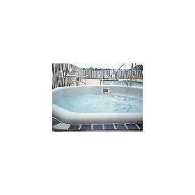Hot Tub at the Windjammer Condominiums