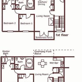 Unit floorplans