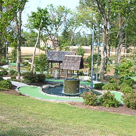 Silverleaf's Piney Shores Resort - Miniature Golf