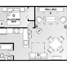Sea Club V - Unit Floor Plan