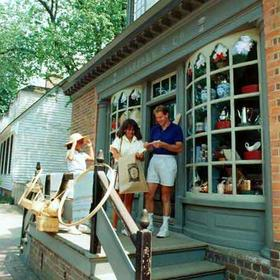 Shopping, Colonial Williamsburg