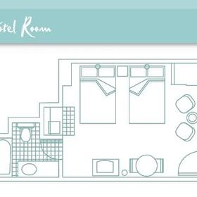 Hotel Room Floorplan