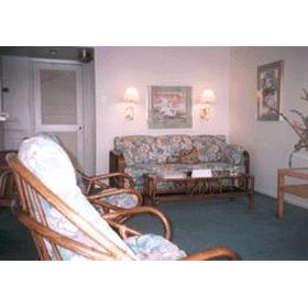 Living Room at Leisure Club International at Padre Island