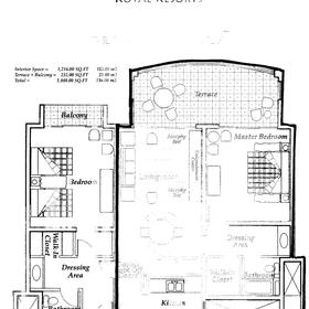 Floorplan of Villa