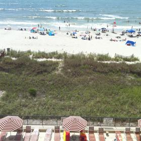 Peppertree by the Sea — Sample balcony view