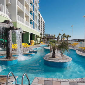 Wyndham Vacation Resorts Towers on the Grove at North Myrtle Beach — Resort Pool
