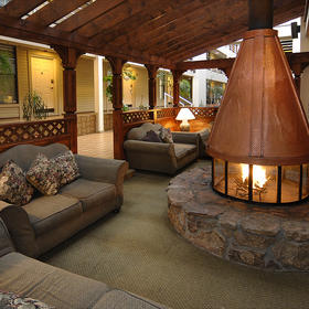 The Christie Lodge — Indoor Fire Pit