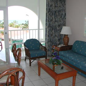La Cabana Beach Resort & Casino - Unit Living Area