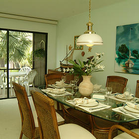 Blind Pass Condominiums - Unit Dining Area