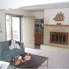 Crystal Mountain Resort - Unit Living Area
