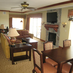 Westgate Park City Resort & Spa Living Area