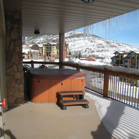 Westgate Park City Resort & Spa Balcony Hot Tub