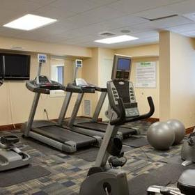 Patrick Henry Square — downstairs fitness center