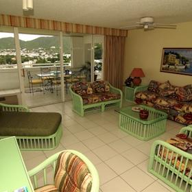 The Atrium Resort on Simpson Bay Beach - Living Room