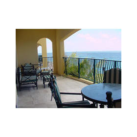 The Sea Aquarium Resort - Unit Balcony