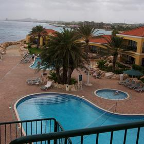 The Sea Aquarium Resort - View From Balcony