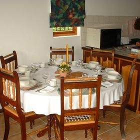 Perna Perna Mossel Bay - Unit Dining Room