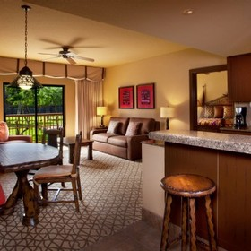 Disney's Animal Kingdom Villas - Kidani Village — Living Area