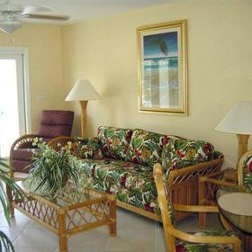 7 Mile Beach Resort - Unit Living Area