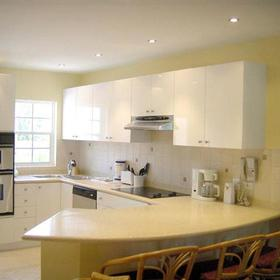 7 Mile Beach Resort — - Unit Kitchen