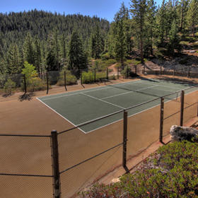 The Ridge Tahoe — Tennis Court