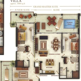 Grand Luxxe Villa Floor Plan
