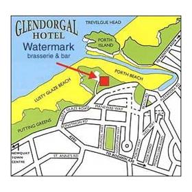 Map of Glendorgal