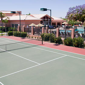 Scottsdale Villa Mirage Tennis Court