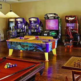 Hilton Grand Vacations Club (HGVC) at Tuscany Village — Hilton Grand Vacations Club (HGVC) at Tuscany Village Game Room
