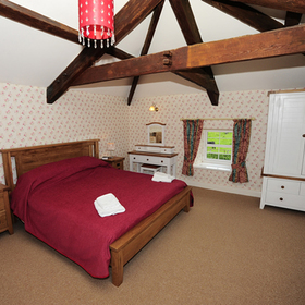 Kiltannon Home Farm Bedroom
