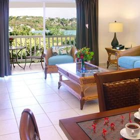 The Verandah Resort & Spa Living Area