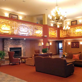 Berkshire Mountain Lodge — Lobby