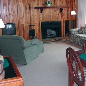 Alpine Village Resort Living Area