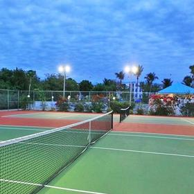 Ocean Pointe Suites at Key Largo Tennis Courts