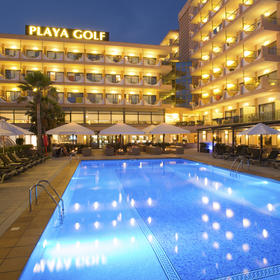 Hotel Playa Golf — Exterior and Pool