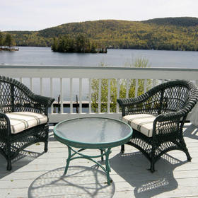 The Quarters at Lake George — Deck