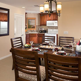 Villas on the Greens at Welk Resorts Dining Area