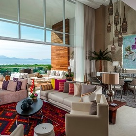 The Residences at Grand Luxxe Nuevo Vallarta — The Residences at Grand Luxxe Living Area