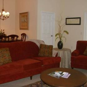 Sunset Point at Stillwaters Resort Living Area