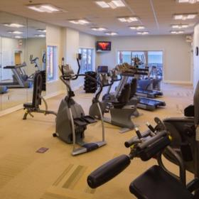 Escapes! to the Shores — Fitness Center