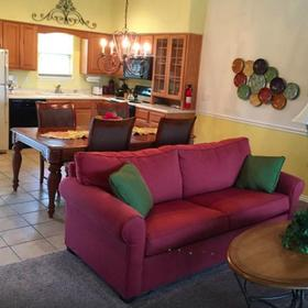 The Greens at Bella Vista Village Living and Dining Area