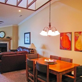 The Wharf — Living and Dining Area