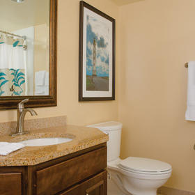 Marriott's Aruba Surf Club Bathroom