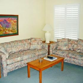 Indian Palms Intervals Living Area