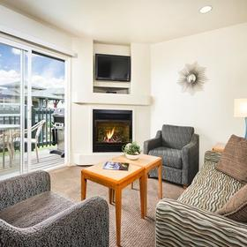 WorldMark Marina Dunes — Living Area