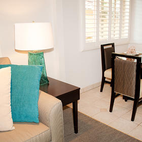 Laguna Shores Living and Dining Area