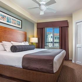 Wyndham Oceanside Pier Resort Bedroom