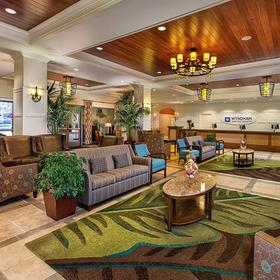Wyndham Oceanside Pier Resort Lobby