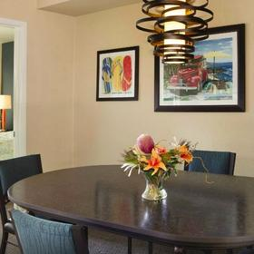 WorldMark Oceanside Harbor Dining Area