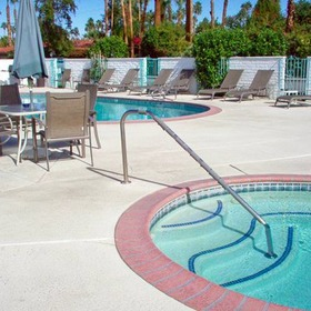 The Villas of Palm Springs Hot Tub